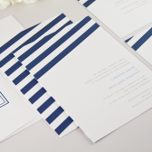 Wind Sail Wedding Invitation