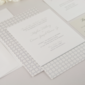Entwined Wedding Invitation