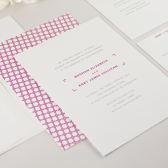 Archetype Wedding Invitation