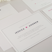 Amory Wedding Invitation