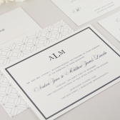 Astoria Wedding Invitation
