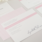Scribble Heart Wedding Invitation
