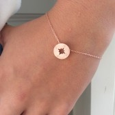 Rose Gold Bracelet, Bridesmaid Gift, Friendship Gift