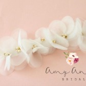 Ivory Bridal Sash - BHLDN Inspired