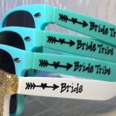 Customizable, Sunglasses, Bride Tribe, Bachelorette, Outdoor Wedding
