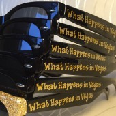 Customizable, personalized, wedding, Sunglasses, Black and gold, Bachelorette party, Bachelor party