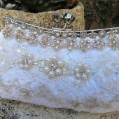 White Wedding Clutch