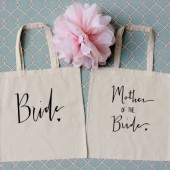 Bride and Mother of Bride Gift Bag Set of 2