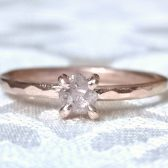 Cognac diamond engagement ring by Gaia\'s Candy
