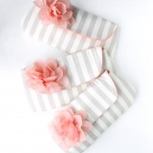 Clutch Set, Peach and Cream