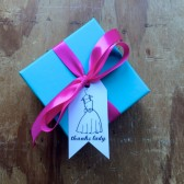 Bridesmaid Thank you tags