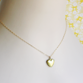 Tiny Gold Heart Locket