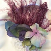 Purple & Blue Hair Comb