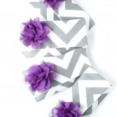 Chevron Bridesmaid Clutch