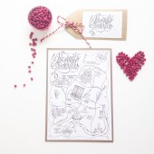Save the Date Wedding Map