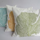 Beach themed pillows for the couple who loves the sea