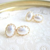 Pearl Earrings Studs