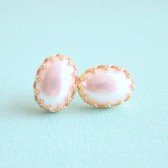 Pearl Earrings For the Bride