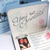 Destination Passport Wedding Save The Date