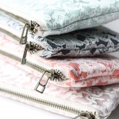 Linen and Lace Clutches