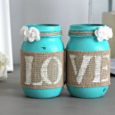 Turquoise Table Decor
