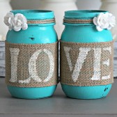 Turquoise Table  Wedding Decor
