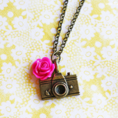 Shutter Bug Camera Necklace
