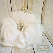 Rhinestone Bridal Headpiece, Bridal Hair Flower