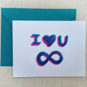 Infinite Love Card