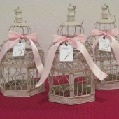 Birdcage Wedding Table Numbers set of 10 / Wedding Birdcage Centerpieces