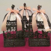 Vintage Style Wedding Birdcage Table Numbers Set of 10 / Wedding Birdcage Centerpieces