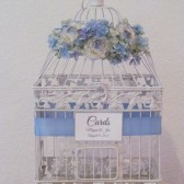 Garden Style Birdcage Card Holder