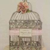 Romantic Wedding Birdcage Card Holder