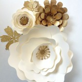 Large Paper Flower Decor
