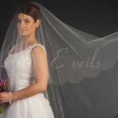 Veil with Scalloped edge