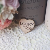 Lucky in Love Favor Magnet