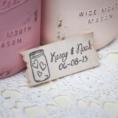 Mason Jar Favor Magnet