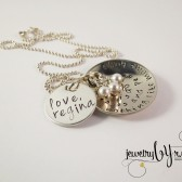 Personalized Mothers Word of Wisdom Necklace