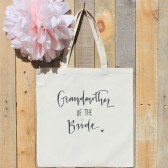 Grandmother of the Bride Wedding Tote Bag