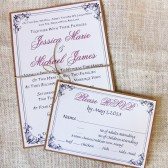 Rustic Twine Wedding Invitation Suite