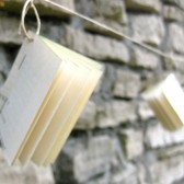 Mini Book Garland, Book Themed Wedding, Mini Book, Book Wedding, Wedding Decor, Reception Decor, Garland, Book Garland,