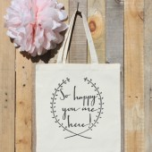 Welcome to our Wedding Gift Tote Bag for Guests