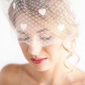 Birdcage Veil, Bandeau Veil, Bridal hair accessory, wedding hair accessory, florentes