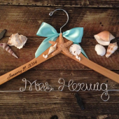 Beach Bridal Hanger