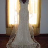 Lace Drop Wedding Veil