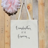 Grandmother of the Groom Wedding Tote Bag