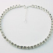 Stunner, Swarovski Crystal Bridal Necklace