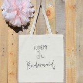 Junior Bridesmaid Bridal Party Wedding Tote Bag