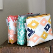 Cosmetic Bags, You Choose Prints