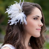 Josia Feather Fascinator